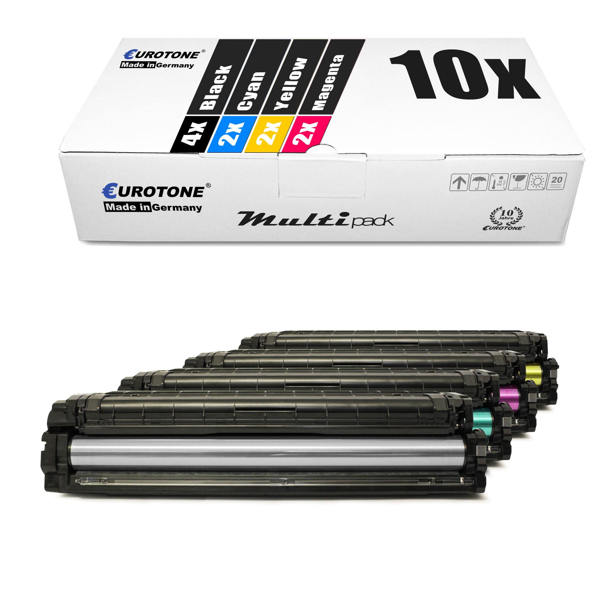 10x PRO Toner für Samsung CLP-680-ND CLX-6260-ND CLX-6260-FW CLX-6260-FD