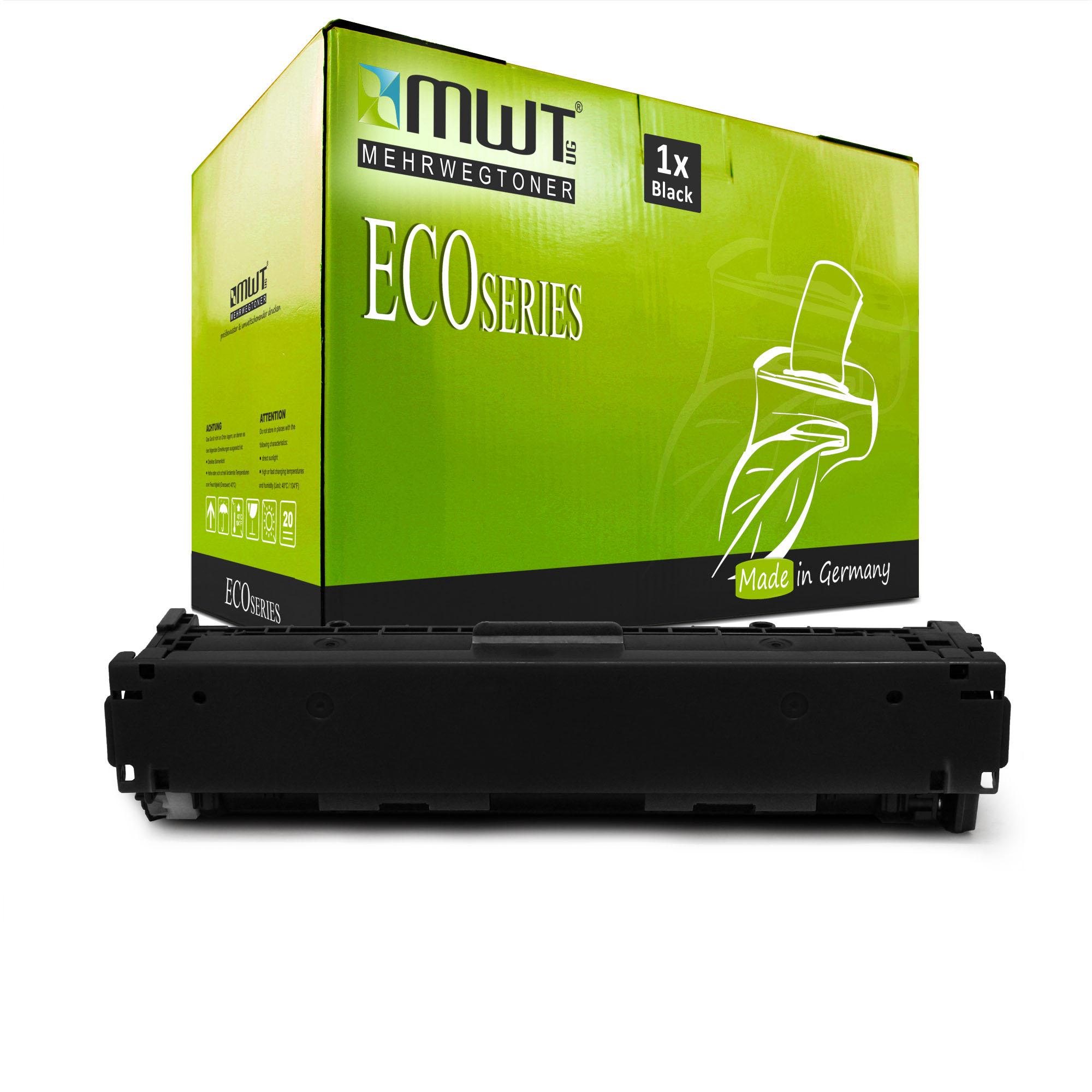MWT ECO Patrone SCHWARZ für HP Color LaserJet Pro CP-1525-n CM-1415-fnw