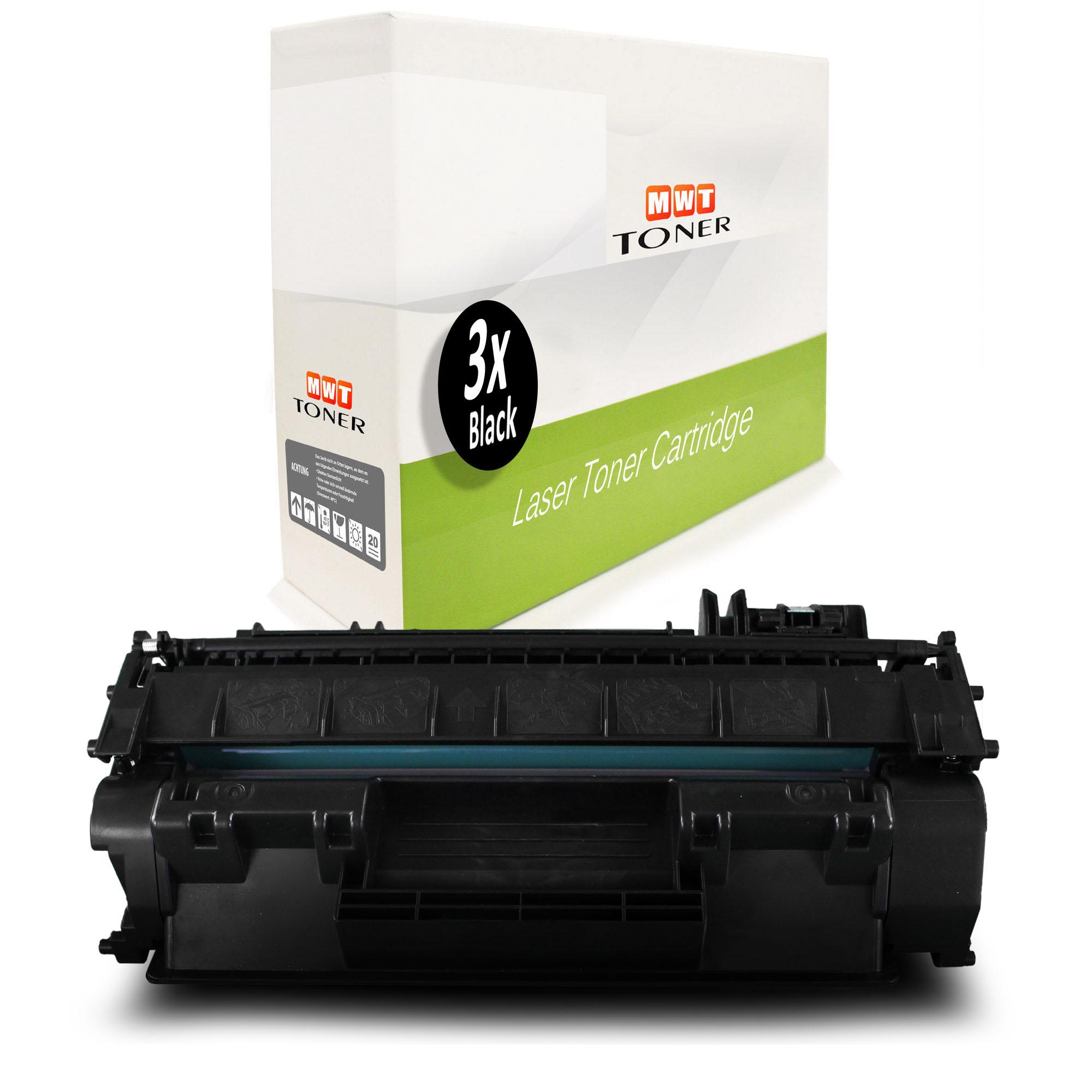 3x MWT Toner für HP LaserJet Pro 400 MFP M-425-dn M-401-dne M-401-n MFP M-425-dw