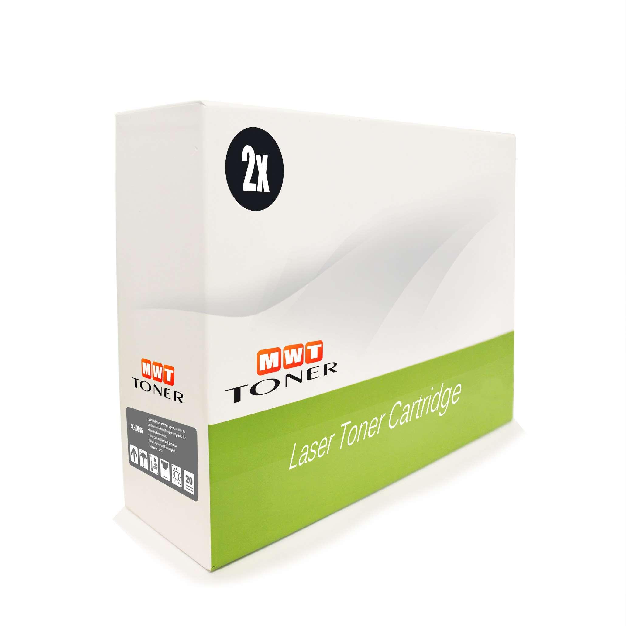 2x MWT Toner ersetzt HP Q2612A 12A