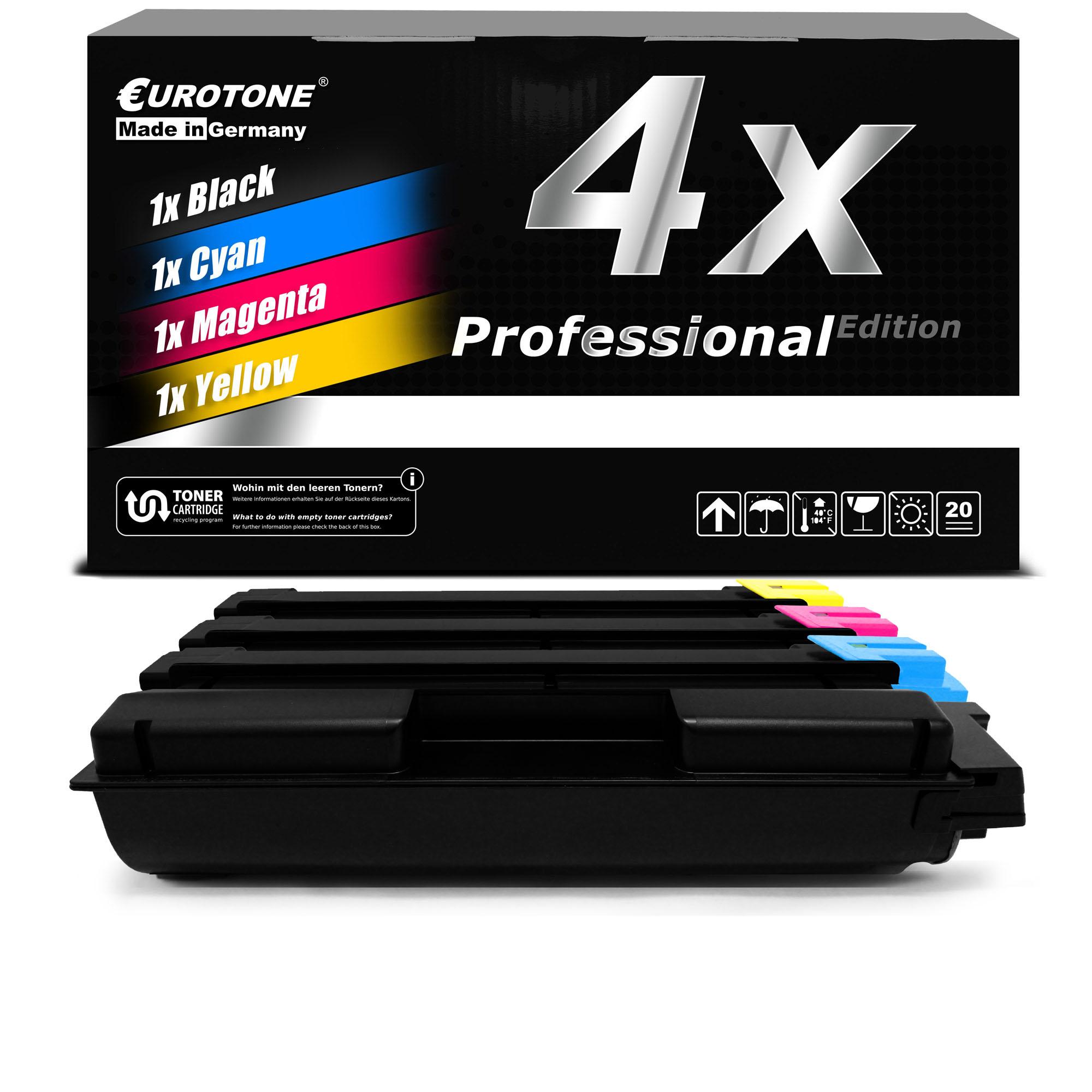4x-eurotone-Pro-Cartouche-remplace-Kyocera-TK-5140-C-TK-5140-K-TK-5140-M-TK-5140-Y