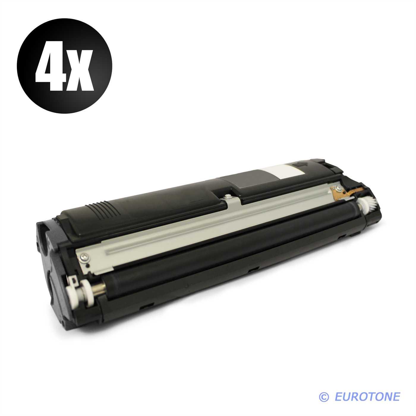 2x ECO Toner BLACK ersetzt Konica Minolta QMS 2300