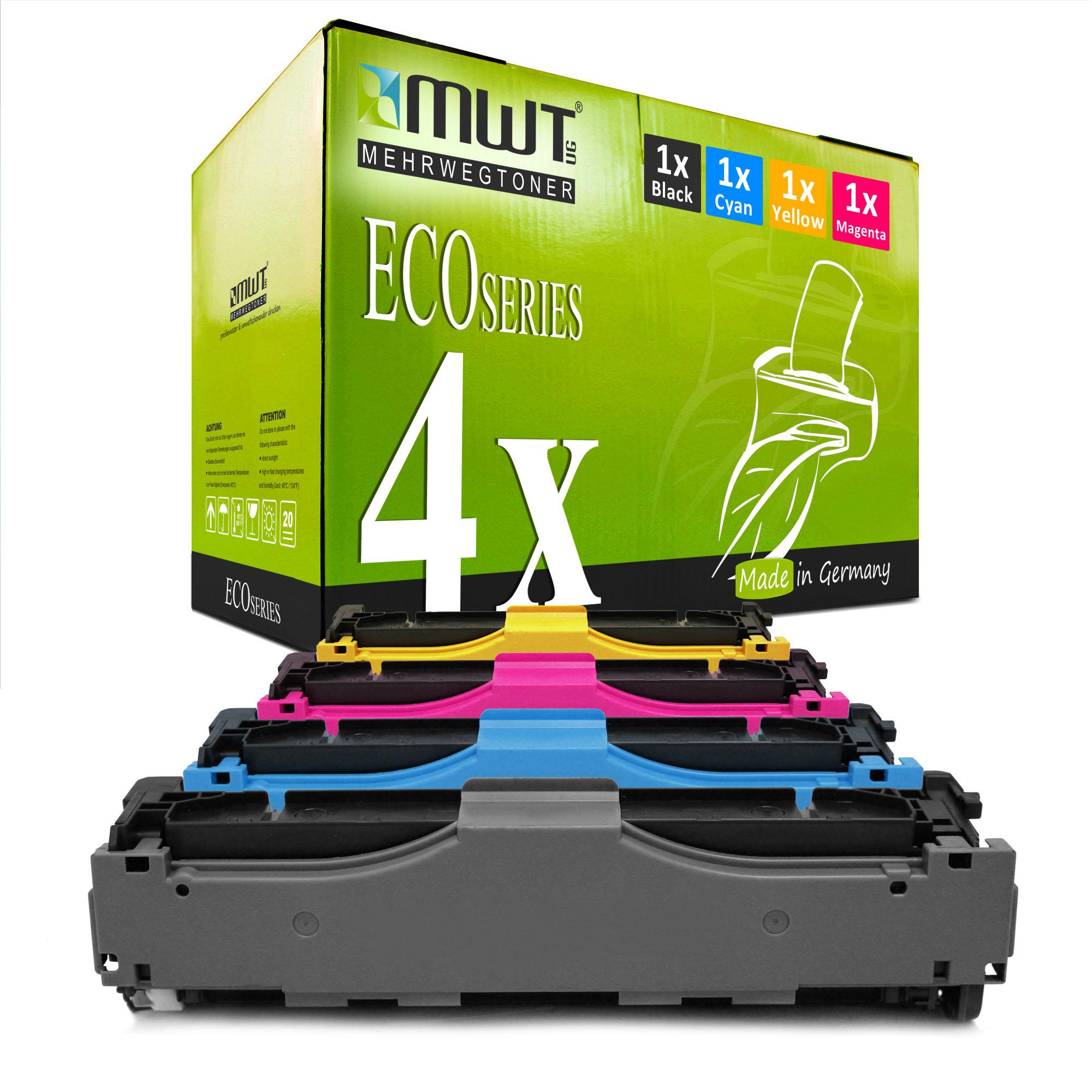 MWT ECO Toner CYAN für HP LaserJet Pro 400 color M-475-dw M-451-dn