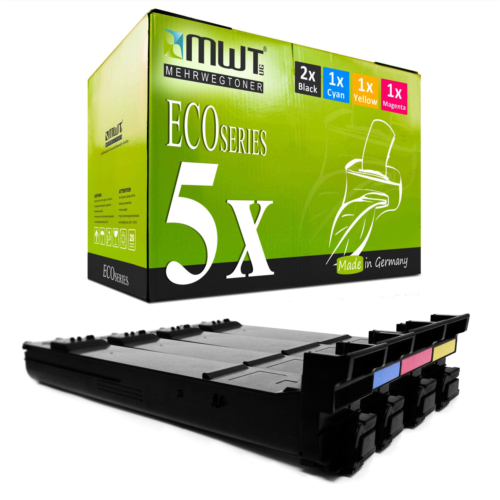 5x-Eco-Toner-Pour-Konica-Minolta-Magicolor-5670-d-5670-en-5570-dh